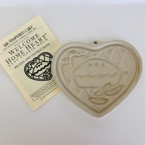 Pampered Chef Clay Cookie Mold